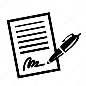Signature d'un contrat 3
